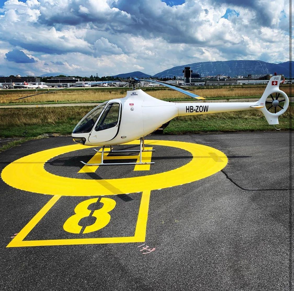 Hélicoptère Guimbal Cabri