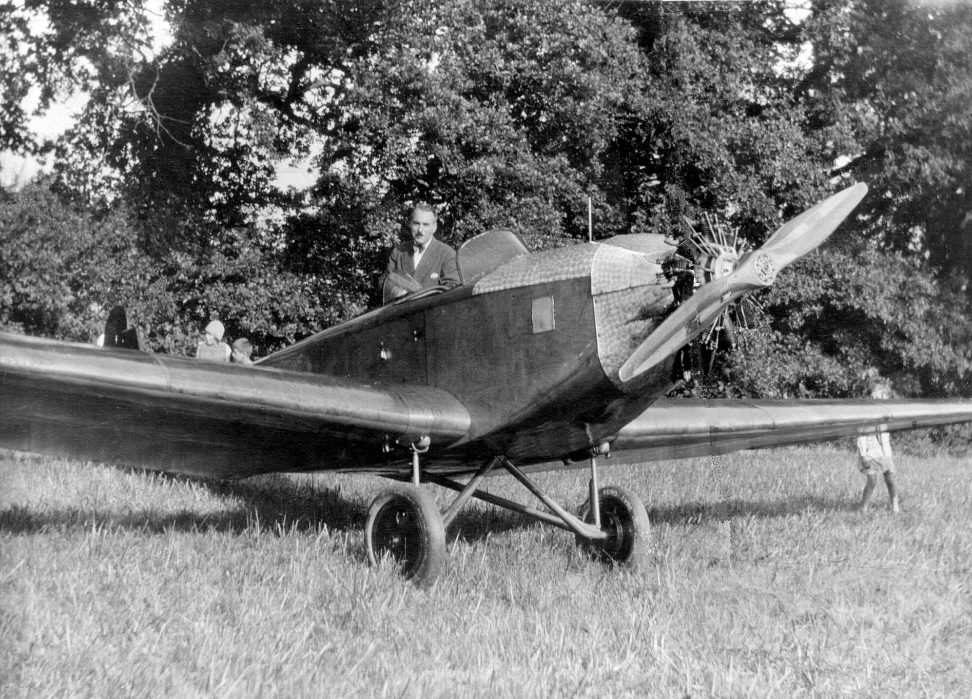 Aéro-Club Genève,  Geneux-Klemm,  1929